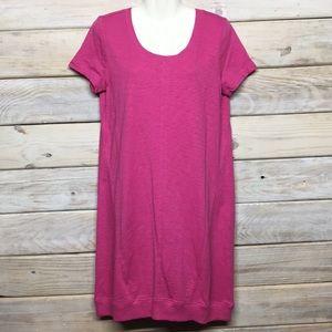 J. Jill Cotton Raspberrys Dress NWT